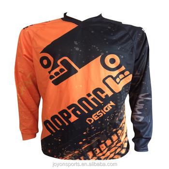 Custom Sublimation Print Men Downhill Jersey Customized MTB Mountain Bike  Motocross Jerseys No minimum dd918ced5