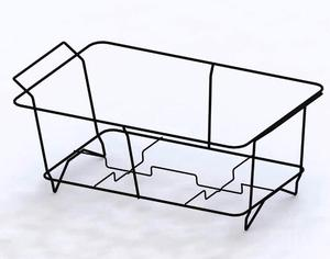 Custom large wire chafing rack buffet food gas warmer
