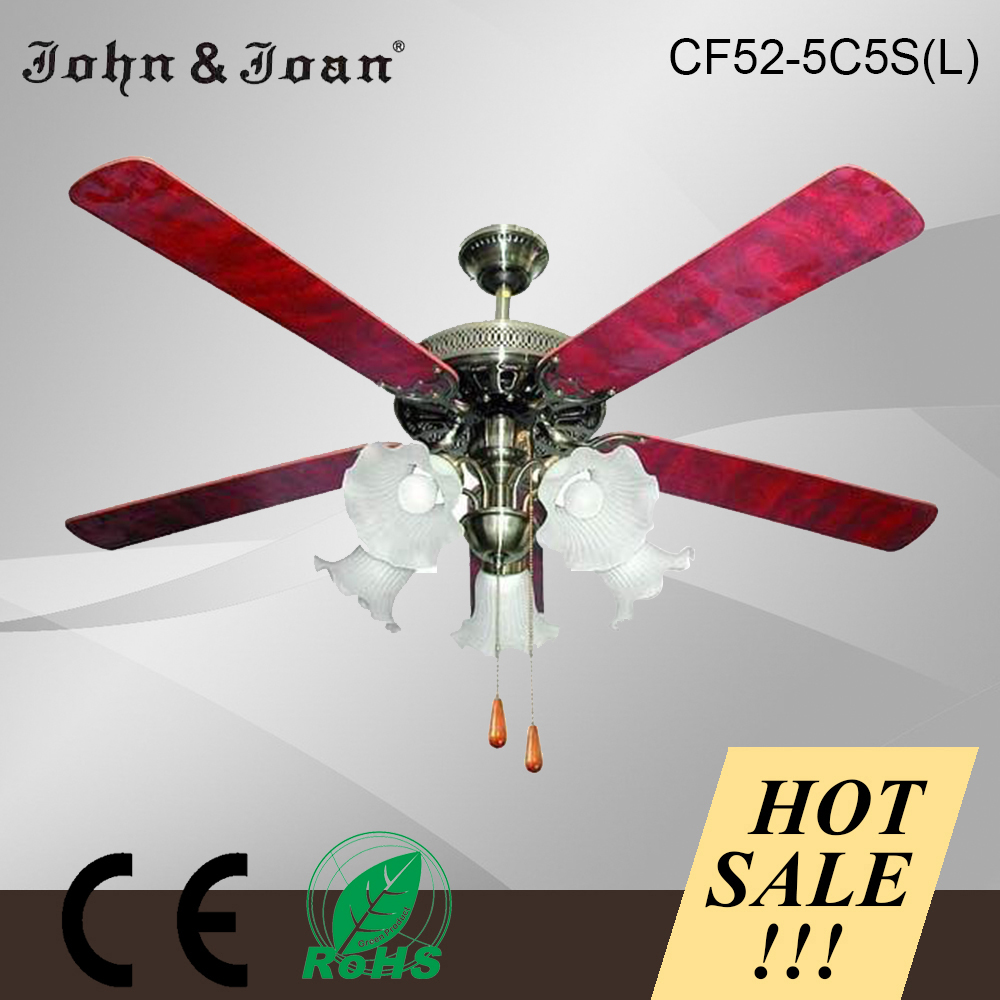 Wholesale fashion style Power saving light weight ceiling fan