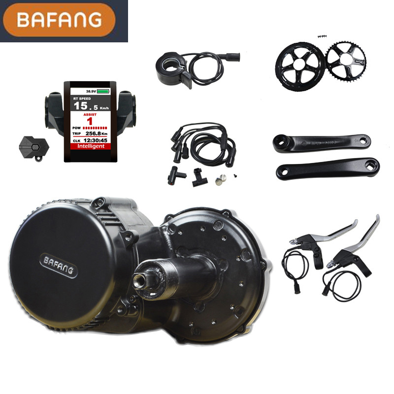 New model Integrates Controller bafang bbs02 48v 750w motor ebike conversion kit