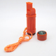 ABS 5 in 1 emergency survival signal compass whistle for camping hiking and other outdoor sports