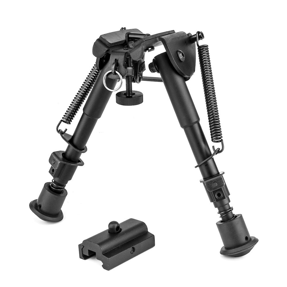 3096f8987 Get Quotations · OTW 2 in 1 Bipod + Rail Mount Adapter 6 Inch to 9 Inch  Adjustable Height