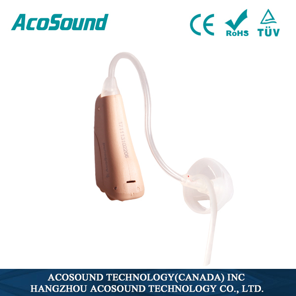 AcoSound Acomate 230OF Mini BTE with Slim Tube for mild to moderate Hearing Loss
