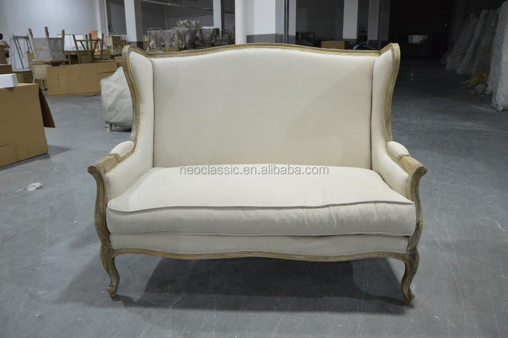 Groothandel franse platteland stof sofa meubels, gestoffeerde ...