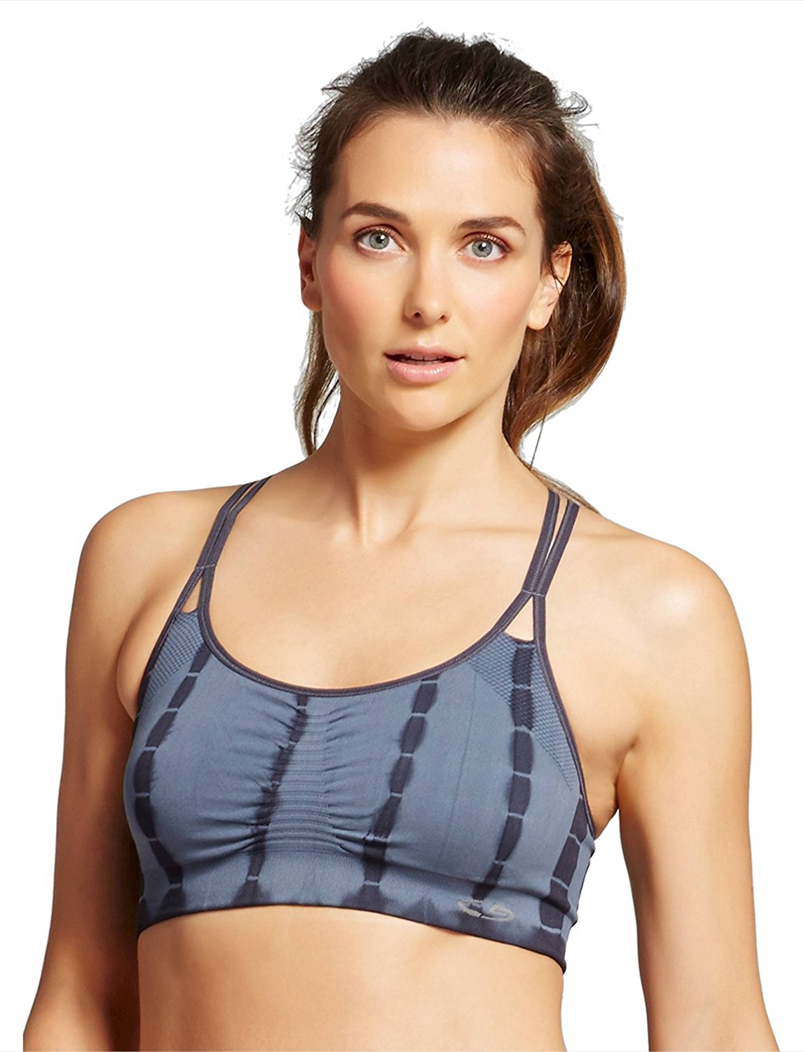 c9dba5d79f Get Quotations · C9 Champion Women s Seamless Tie Dye Strappy Sports Bra