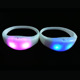 Glow In The Dark Party Application sound control funny custom Silicone Wristband