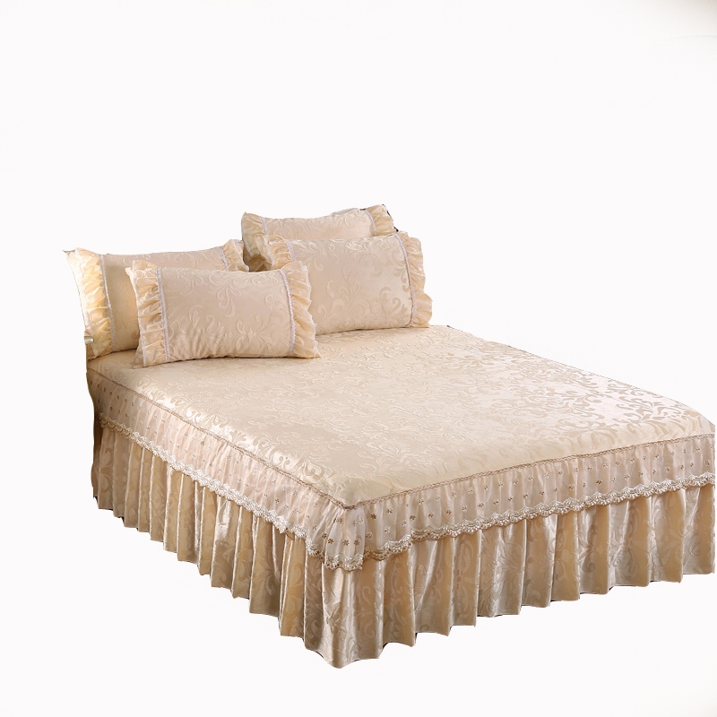 Popular Patterned Bed Skirts Buy Cheap Patterned Bed