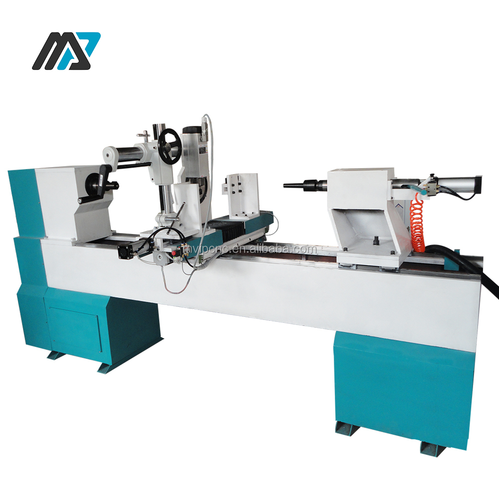 Professional Manufacturer Offered Baseball Bat CNC Wood Turning Lathe