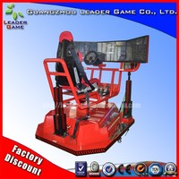 Leader Game Attractive type 8D racing and flight game racing car vr machine