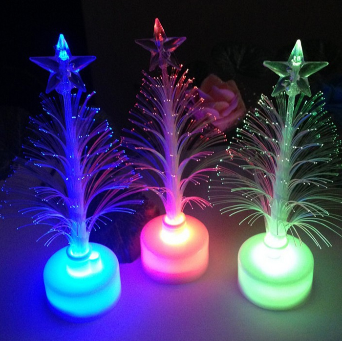 Fiber Optic Mini Christmas Trees, Fiber Optic Mini Christmas Trees ...
