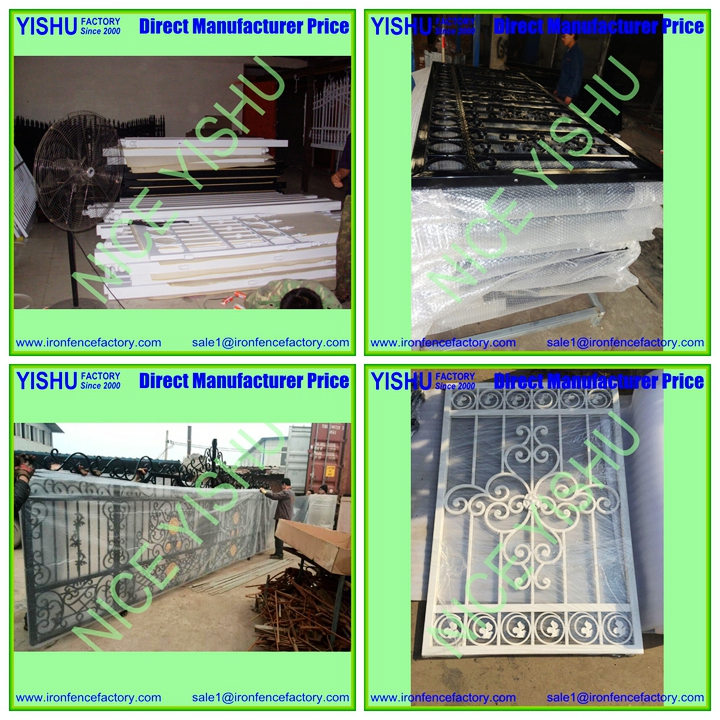 The New High Quality Aluminum Sliding Gate Main Wrought