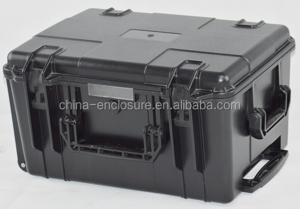 China manufacturer waterproof hard ABS plastic carry case/tool box trolley case with EVA foam