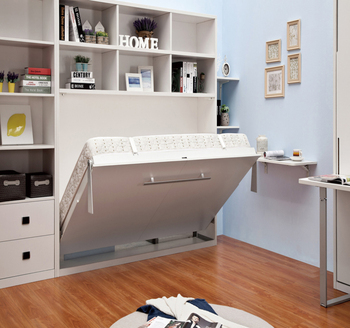 Queen Size Folding Down Wall Cabinet Murphy Bed Buy Wall