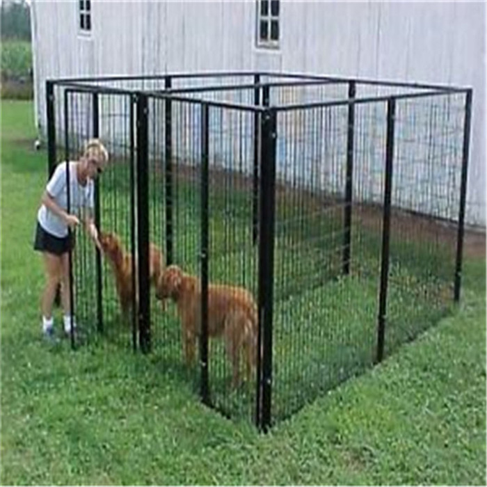 High Quality New Design Large Outdoor Chain Link Dog Kennel Fence For