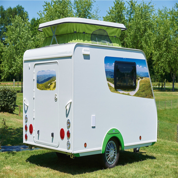 Stylish Mini Living Caravan Camper With Awning China Manufacture