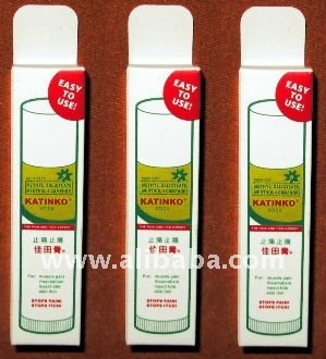 3 Katinko Stick for Pain Itch Rheumatism Insect Bite