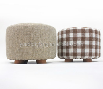 Elegant Design Round Foot Rest Stool Wooden Fabric Upholstered Footstool/ soft footstool  sc 1 st  Alibaba & Elegant Design Round Foot Rest Stool Wooden Fabric Upholstered ... islam-shia.org