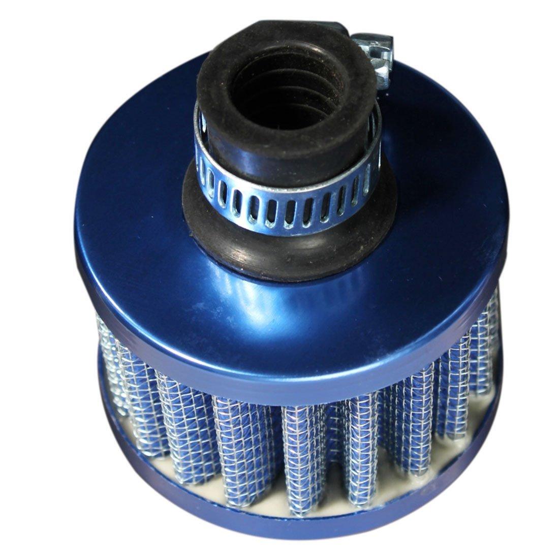 Air filter - TOOGOO(R)12mm Mini AIR Air Filter Conical Vapor Recovery Oil Moto Auto Blue