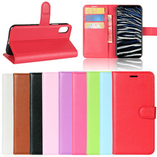Mobile Phone Accessories leather mobile phone case for iphone X, OEM for iphone 7 flip pu leather phone case