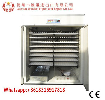 WQ-2816 full automatic 3000 eggs poultry egg incubators in germany prices  india, View incubator prices india, Weiqian Product Details from Dezhou