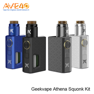 New Product 100% Authentic Electric E cig 6.5ml BF RDA Tank Geek Vape Athena Squonk Kit