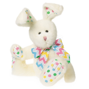 China handmade craft factory supply plush easter bunny