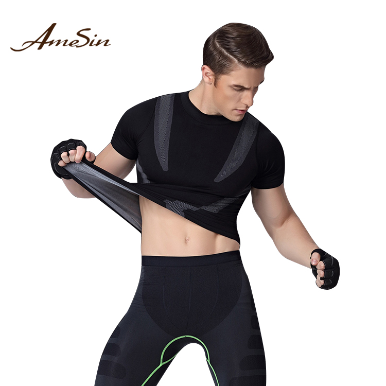 Fitness, Running & Yoga Mens Full Sleeve Compression Running Base Layers Skillful Manufacture