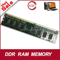 lower quality only work for AMD,SIS,VIA cpu motherboard 4bits high density DDR1 1GB 400MHZ ram memory BGA chips