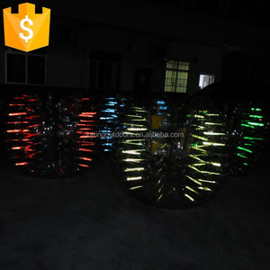 New Design Glowing TPU soccer bubbles ,bubble football ,bubble ball for football