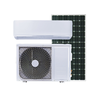 High quality off grid 0.75ton 9000btu AC 220v 50hz DC 50-350V hybrid solar air conditioner