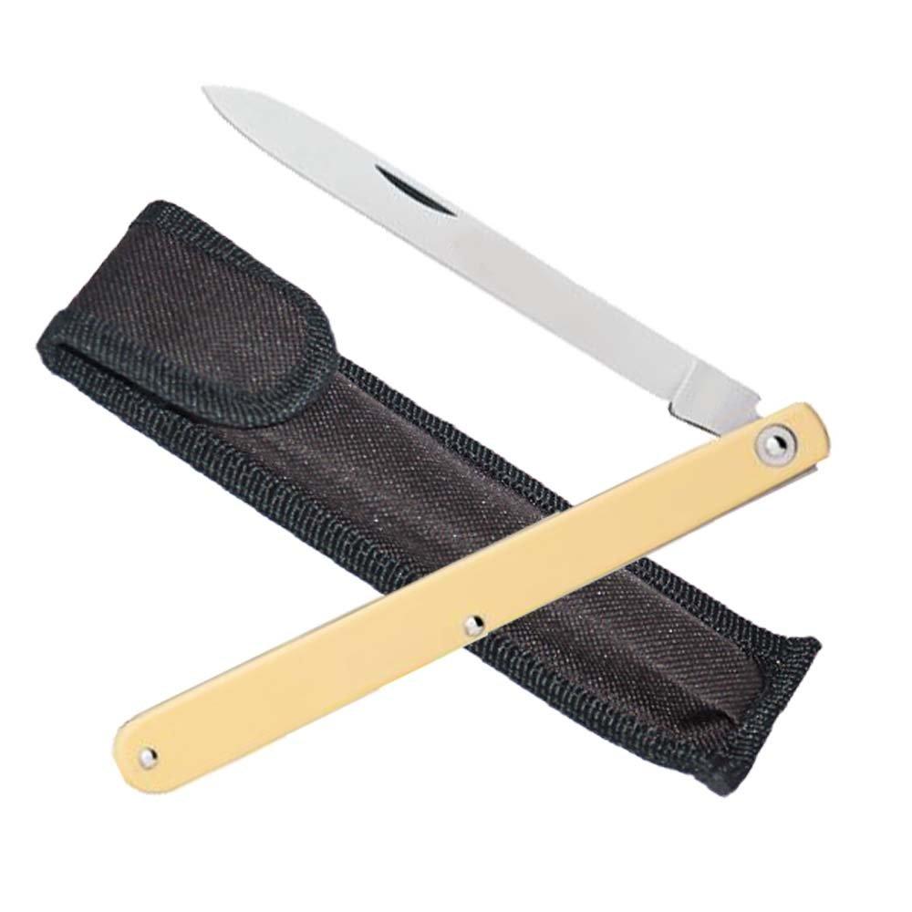 Zenport KC05 Fruit Sampling Knife with Carrying Case, 4.75-Inch Blade
