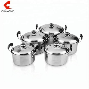 10pcs stainless steel stock pot /cookware set