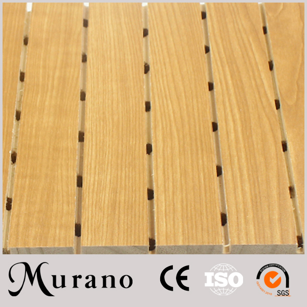 Factory direct supplier No risk of skin irritation groove acoustic panel Sold On Alibaba