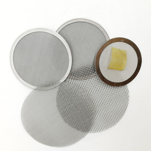0.2 0.5 1 2 3 5 6 micron 8 10 25 100 micron round screen stainless steel filter mesh disc