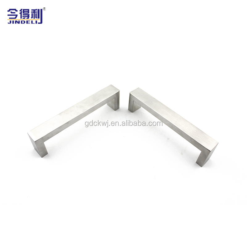 10mm Furniture Handle Bedroom Cabinet Pull Square Bar Handle And Knob