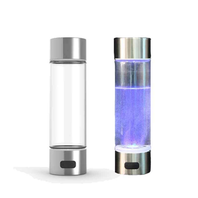 Portable Hydrogen h2 Rich <strong>Water</strong> Bottle Ionizer Ion Maker Generator BPA free drink hydrogen <strong>water</strong> Anti-aging