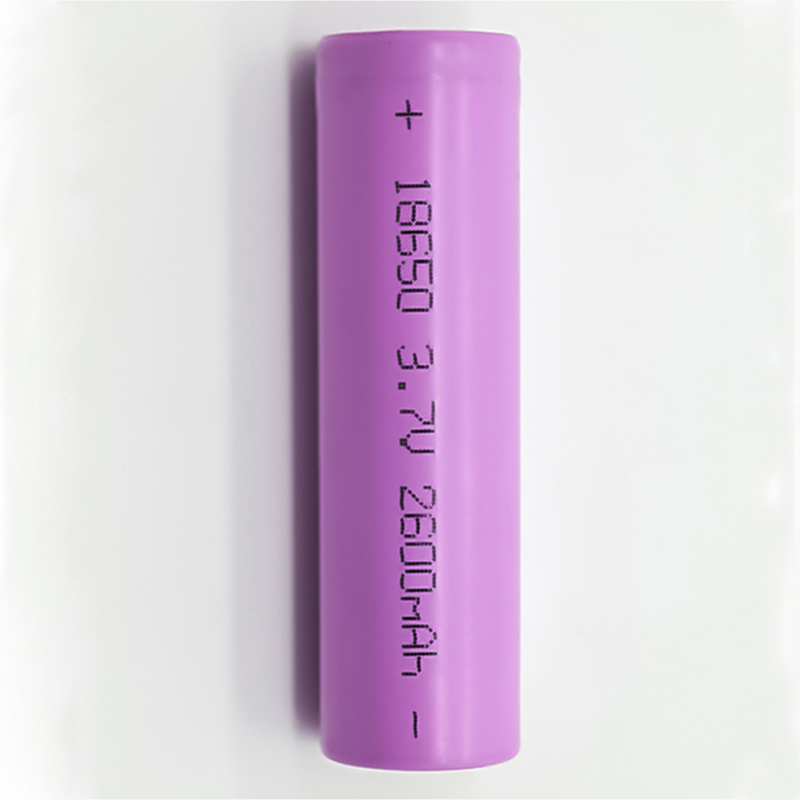 Hot sale cylindrical 3.7V2600mAh 1865  li-ion rechargeable battery