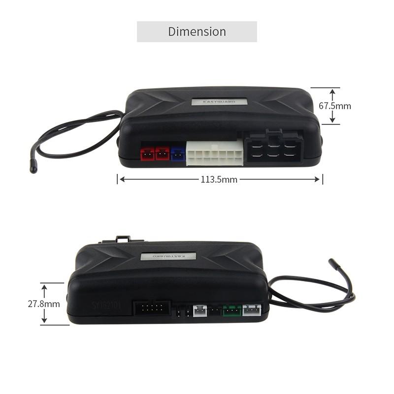 Push Button Start Remote Engine Start Pke Car Alarm
