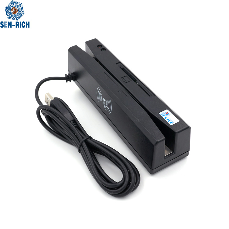usb Android 4-in-1 multi card reader magstripe +smart nfc/emv +psam with SDK