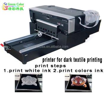 Premium textile inkjet printing for t shirt dtg printer for Inkjet t shirt printing