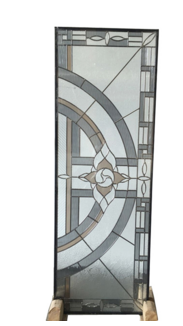 sheet embroidered glass for doors
