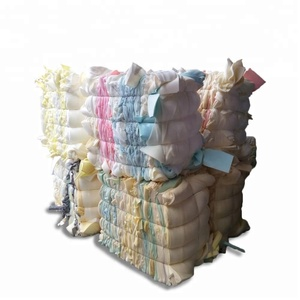 Big compressed scrap yard produce Polyurethane recycled foam