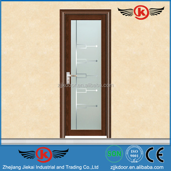 Jk-aw9073 Flush Door Design Used Frosted Glass Kitchen Cabinet ...
