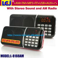 L-B188AM portable mini USB am fm radio digital tuner
