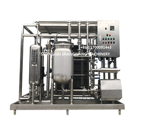 Pasturized Milk Production Line/Milk Processing Unit/Flavoured Milk Processing Machine