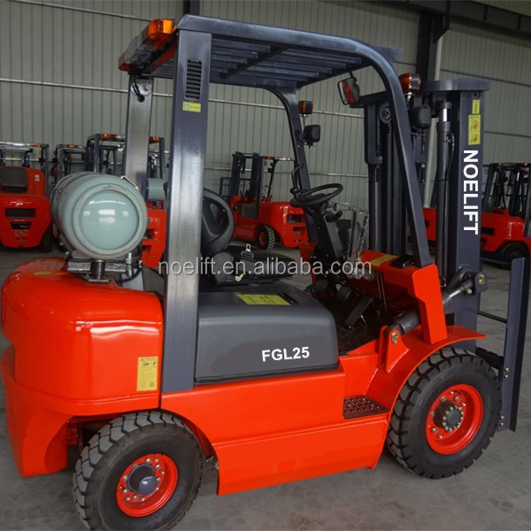 3tons forklift hydraulic oil 3ton gasoline and LPG forklift, dual fuel forklift truck with back-lamp