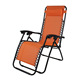 Zero Gravity Outdoor Folding Lounge Chair with Pillow