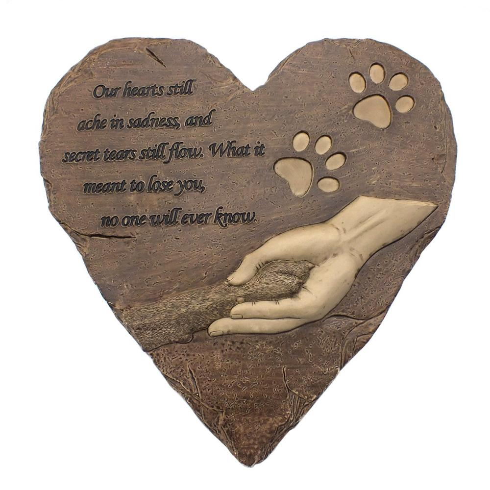 pet stones diy stone garden memorial id tombstonememorial tombstone