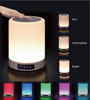 Wireless Bluetooth 4.0 Speaker Portable HIFI Stereo with Led Light Lamp and Alarm Clock and FM radio