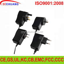 12V ac/dc power adapter with switch